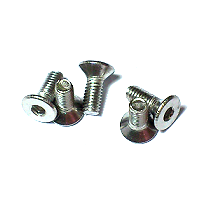 Countersunk Socket Head Cap Screws SUS 304 M3 10Pc/Lot
