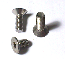 Countersunk Socket Head Cap Screws SUS 304 M6 10Pc/Lot