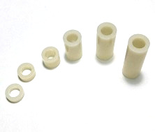 ABS Plastic Spacer OD9mm, ID5.2mm, 10 Pc/lot