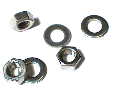 Hexagon Nut & Washer Set Stainless Steel SUS304 M5 10Pc/Lot